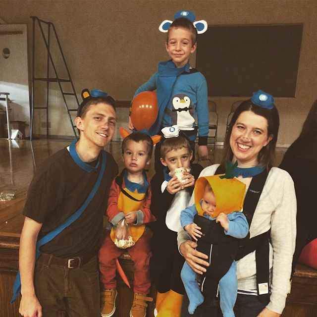 Happy Halloween, from the Octonauts!