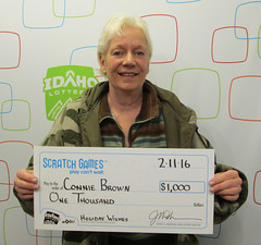 Connie Brown - $1,000 Holiday Wishes