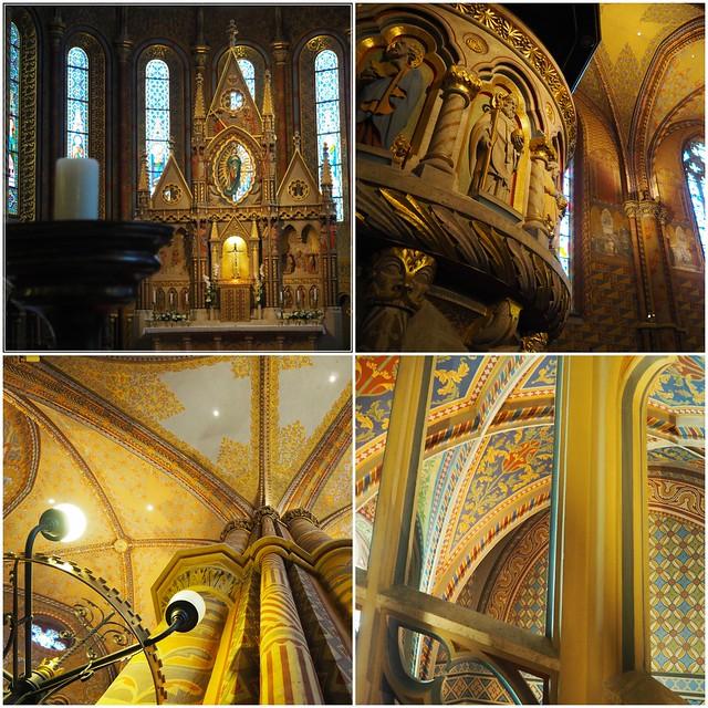 Interni della chiesa di San Mattia