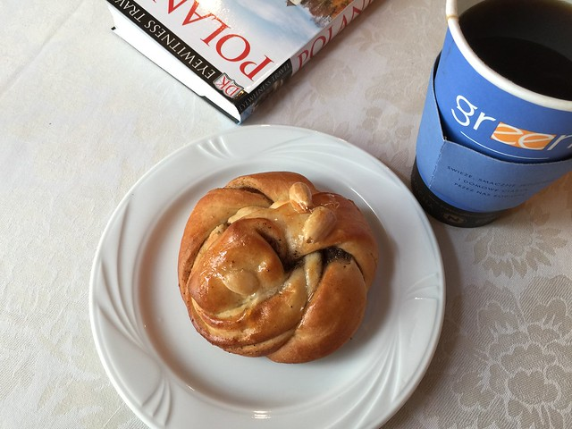 Cardamom bun for breakfast