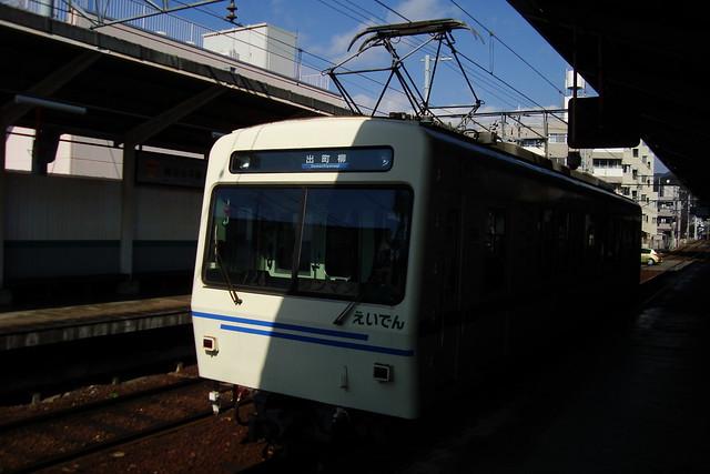 2016/01 叡山電車修学院駅 #01