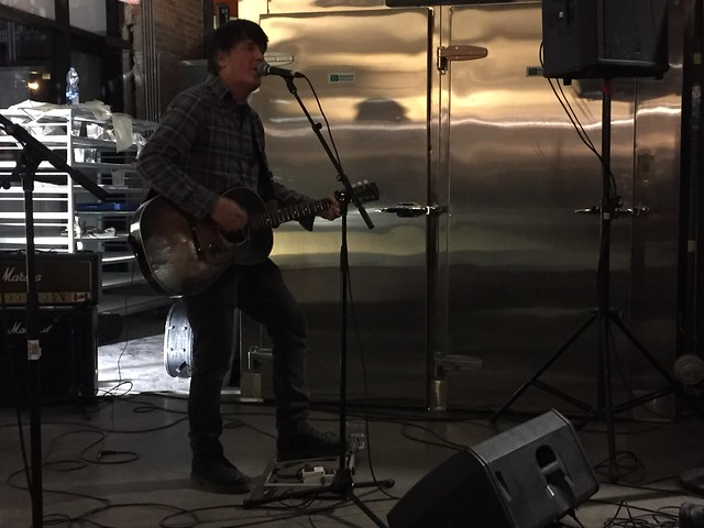 Chris Page at Bridgehead Roastery