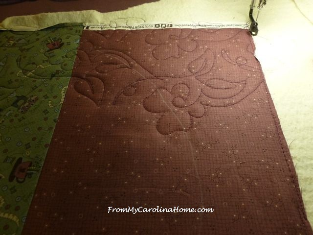Quilted Wall Art Project ~ From My Carolina Home