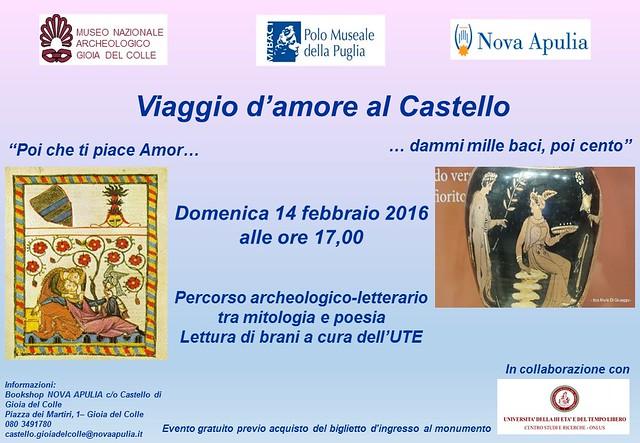 CASTELLO evento 14 febbraio
