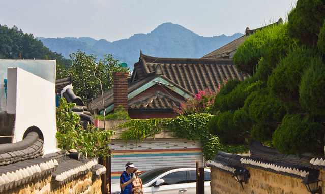 Mid-century modern Western-styled Brick House, Jeonju, South Korea