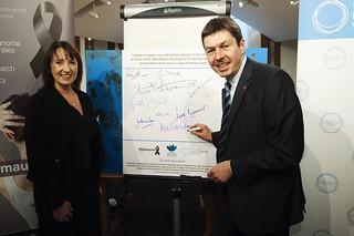 Ken Supporting the work of Melanoma UK