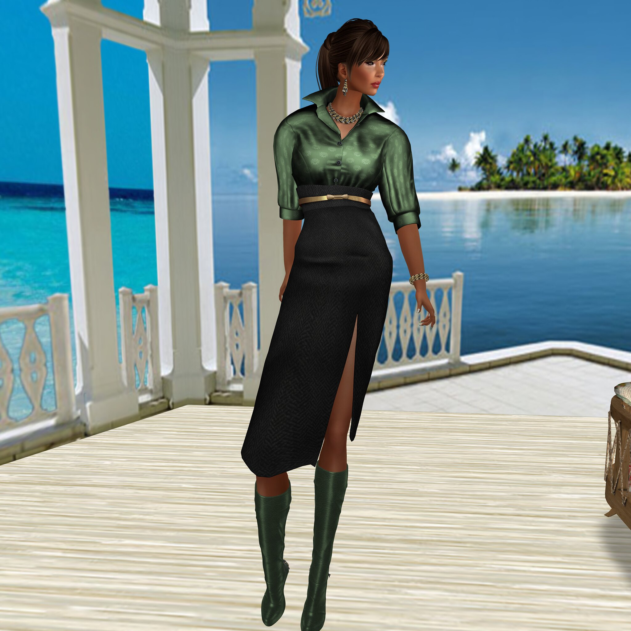 LAVIAN&CO-By Sage, Belenda Set and Belenda Boots In Steals and Deals