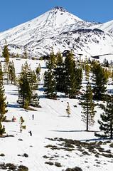 Nevada en el Teide