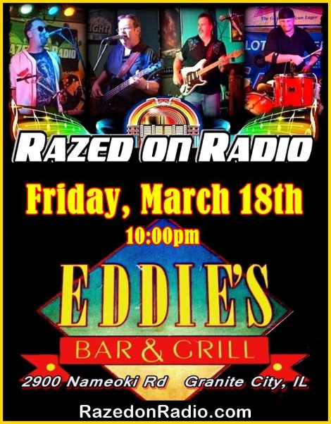 Razed On Radio 3-18-16