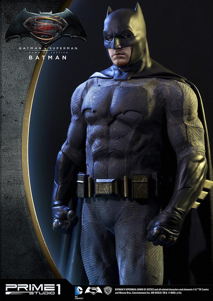 Prime 1 Studio 蝙蝠俠對超人:正義曙光【蝙蝠俠】Batman 1/2 比例超巨大全身雕像