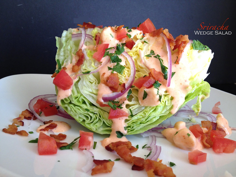 Sriracha Wedge Salad