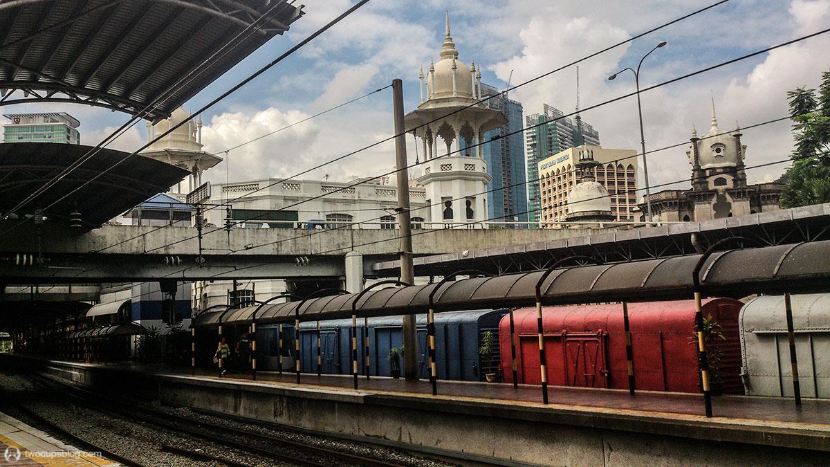 """Train station """"Kuala Lumpur"""""""