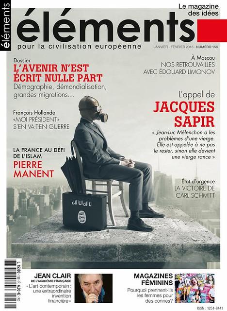 Avec son masque anti-fasciste, J. Sapir est protégé.