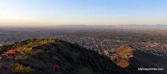 Downtown Phoenix from North Mountain