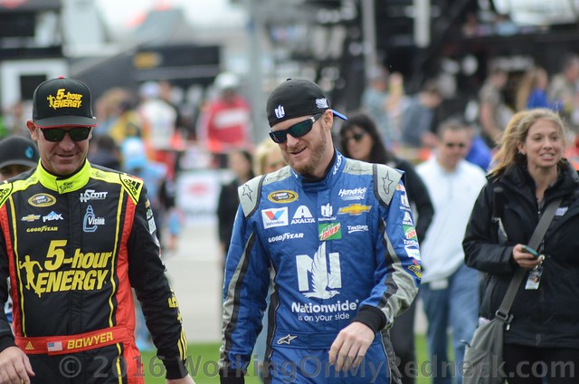 Clint Bowyer & Dale Earnhardt, Jr.