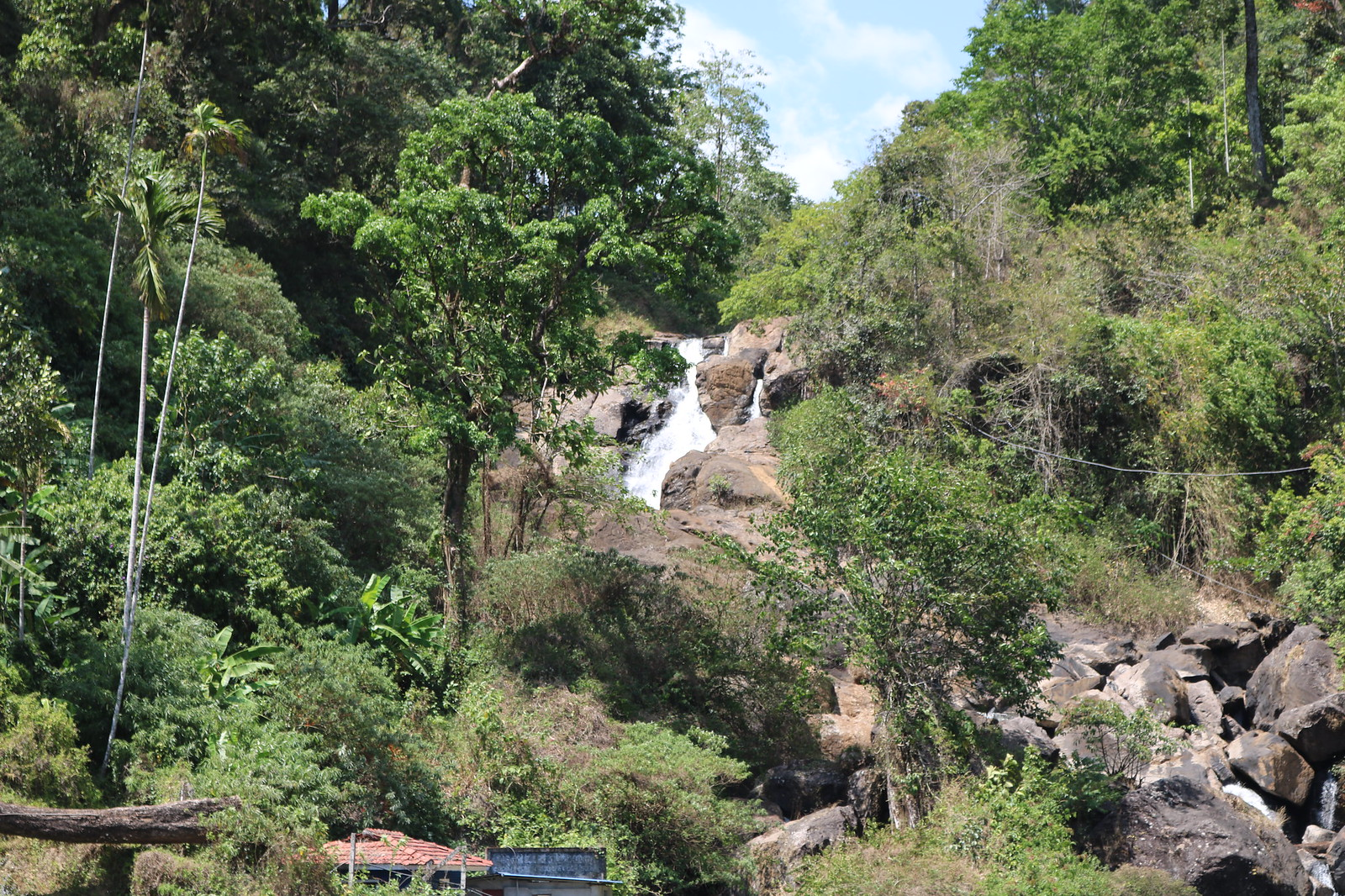 Waterfall en-route Munnar