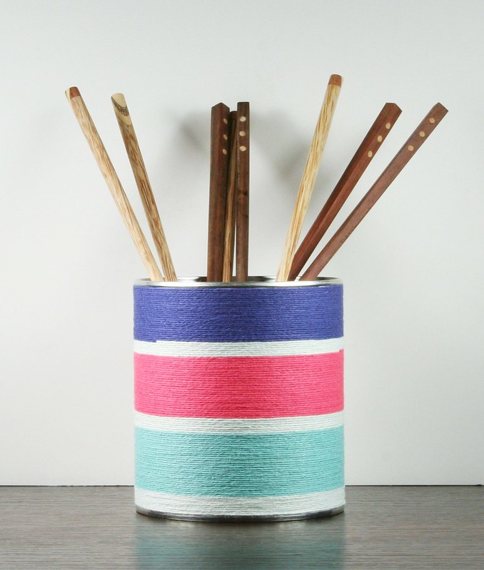 Twine-wrapped Utensil Holder | shirley shirley bo birley Blog