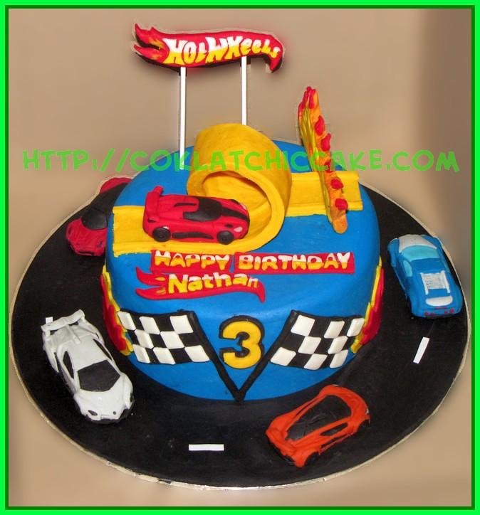 Cake HotWheels