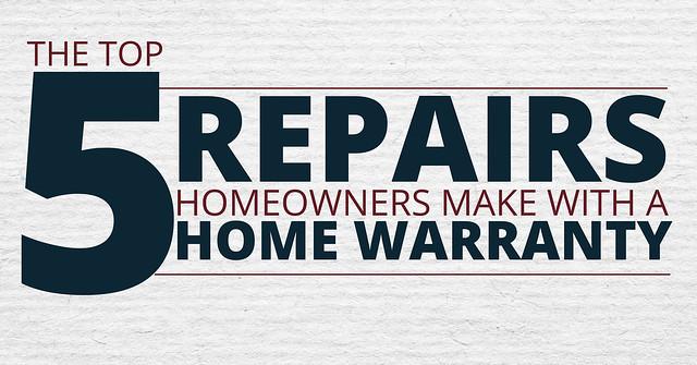 Header Image 5 Things Home Warranty Repairs