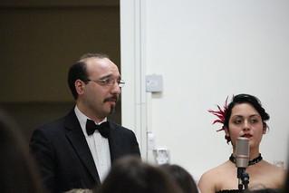 Il baritono Pietro Barbieri e l'alunna Margherita Settanni
