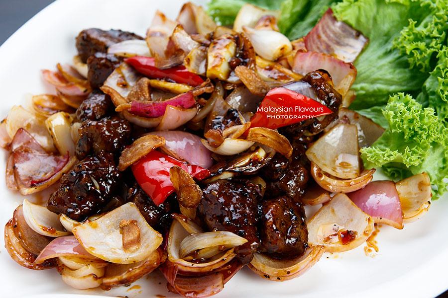 The Prince Restaurant 1Mont Kiara KL stir fried beef