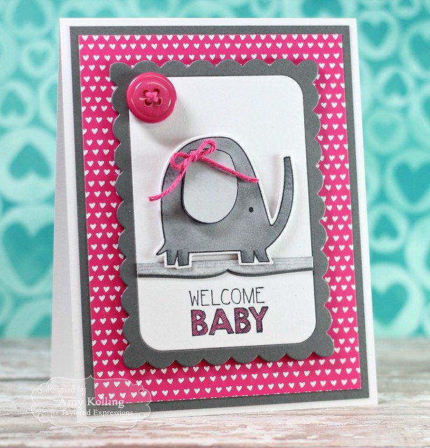 Welcome Baby by Amy Kolling