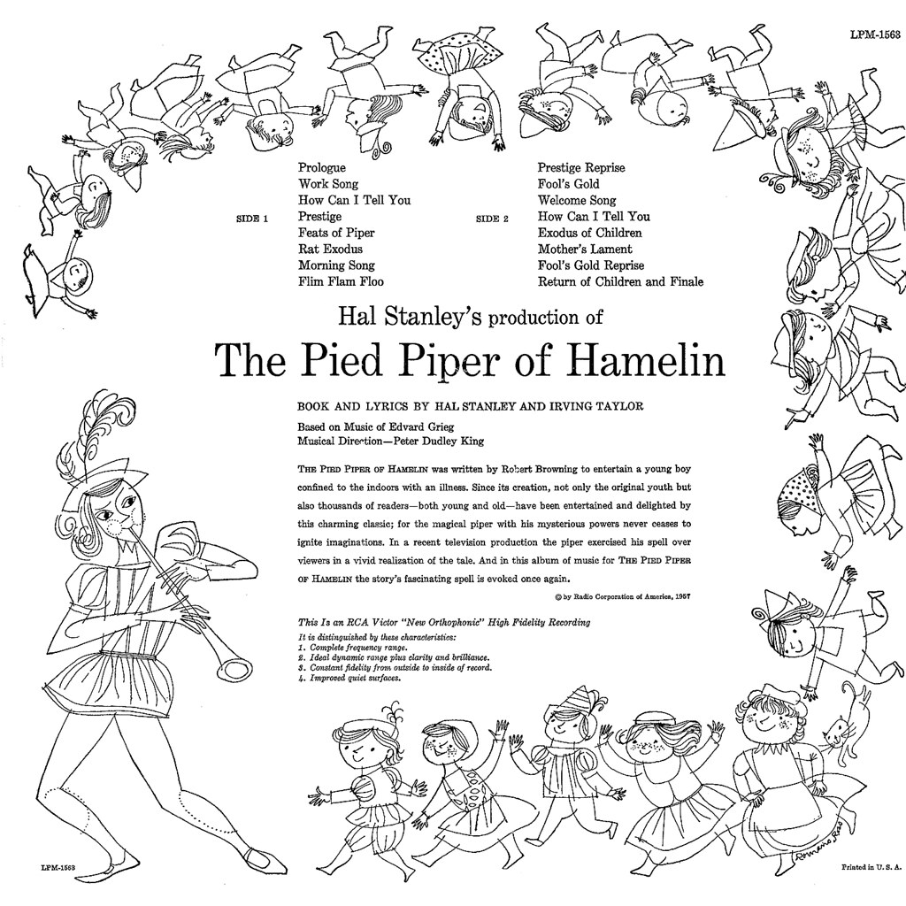 Peter Dudley King - The Pied Piper of Hamelin