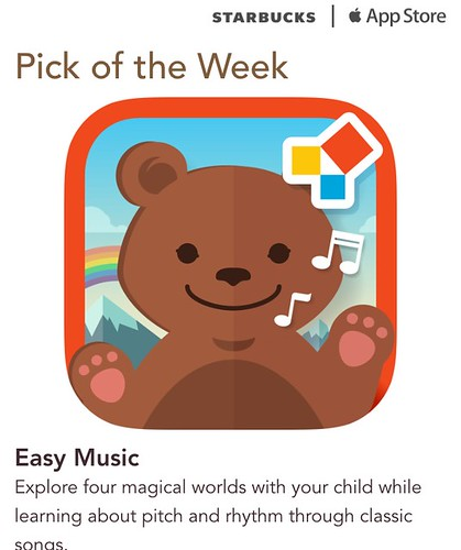 Starbucks iTunes Pick of Week - Easy Music