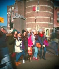 Amsterdam: Italian tourists