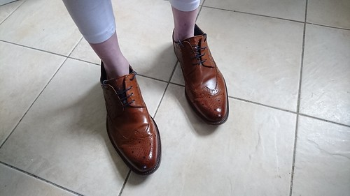 Tommy Bowe's Shoes