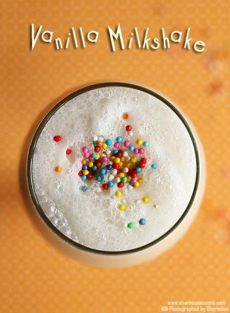 Vanilla Milkshake Recipe