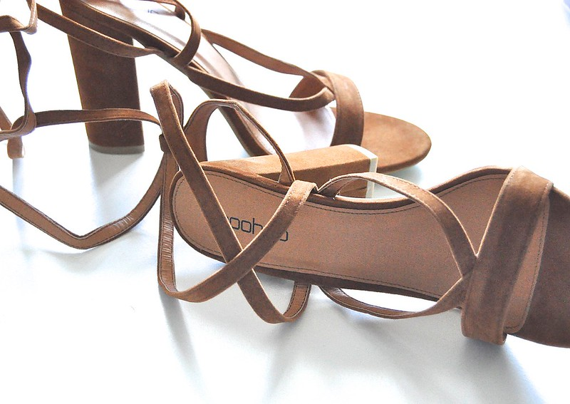 Boohoo Wrap shoes