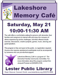 Lakeshore Memory Café