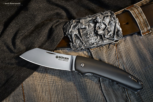 Boker Haddock Zirconium folding knife
