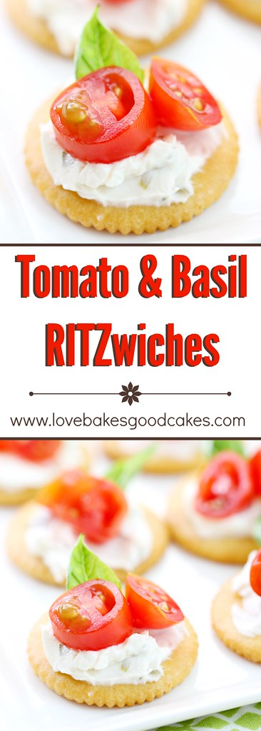"Tomato & Basil RITZwishes - ""Stack It Up"" with RITZwiches AD"
