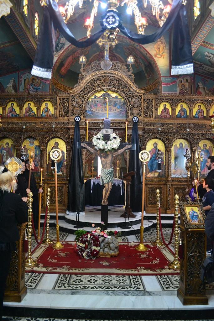 Αποκαθήλωση στον Καθεδρικό Πειραιώς 2016