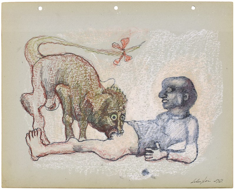 Jan Lebenstein - Untitled , 1962
