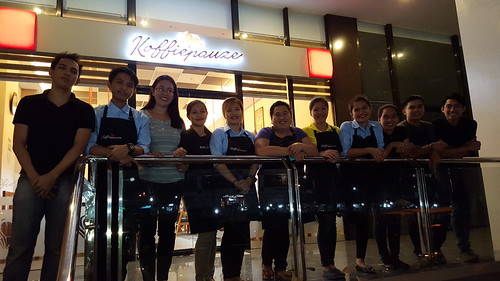 Koffie Pauze Crew | Dinner at Koffie Pauze at its new home at 100 Roxas Avenue Dormitory - DavaoFoodTrips.com