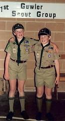 Nick and Mark Cooper December 1989