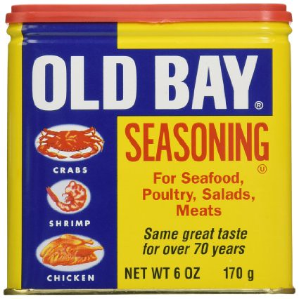 Georgina Ingham Culinary Travels - Photograph Tin of Old Bay Spice Blend