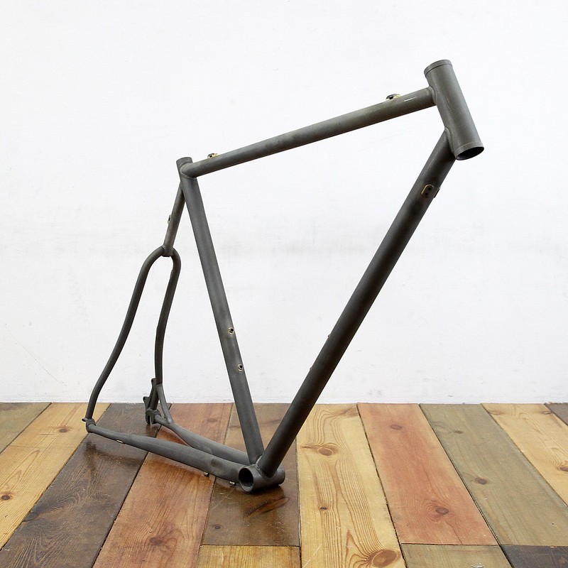 "Steel Era ""Mudman"" Frame Set / For Disk Brake"