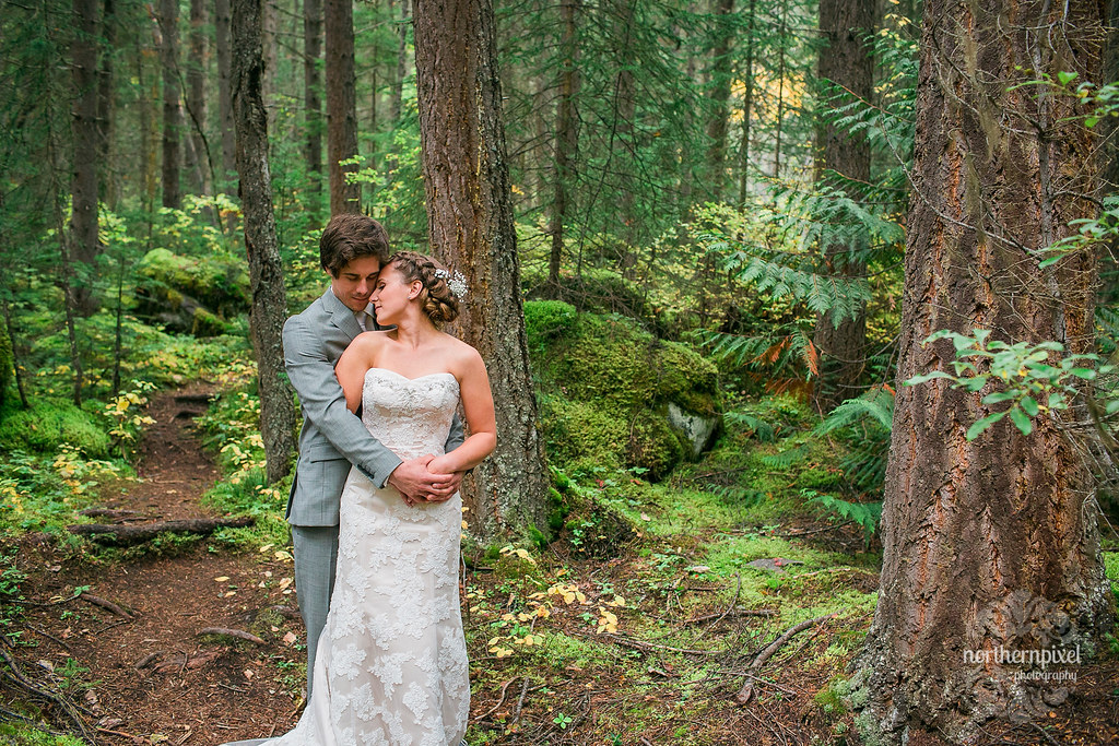 Mount Robson BC Wedding Photos
