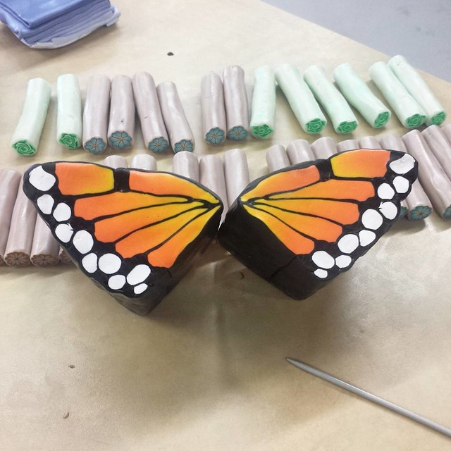 Monarch Wing Cane