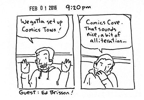 Hourly Comic Day 2016 - 9:20pm