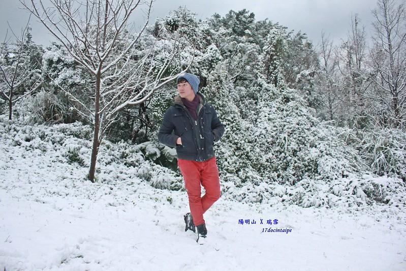 2016-台北陽明山-瑞雪-難得一見的雪白山景-17度C隨拍 (67)