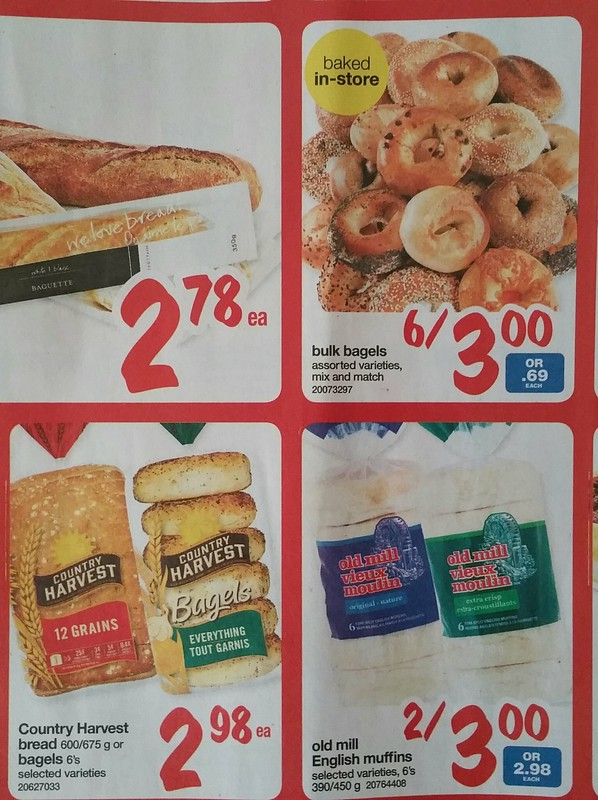 2016-Feb-22 Superstore flyer - bagel and muffin offers
