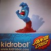 Kidrobot x Santa Cruz 30th anniversary, celebrating 30 years of Jim Philips' artwork, and a company that changed skateboarding forever. This 10-inch screaming hand figure is available from us on Thomas Street, or through the gallery website http://ift.tt/