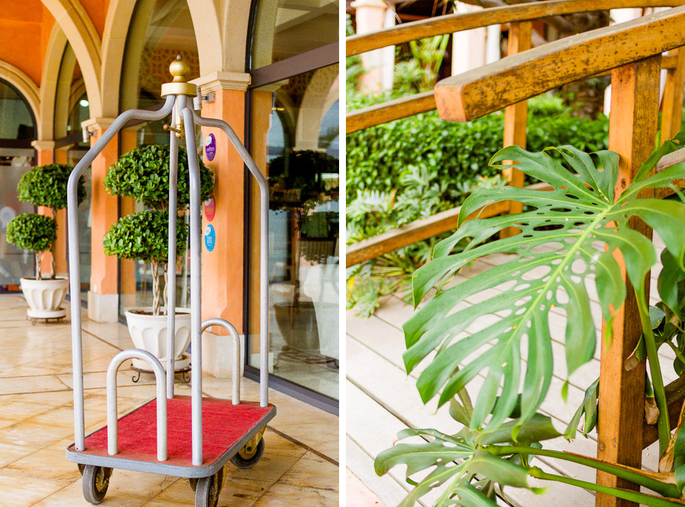 hotel trolley at the Gran Hotel Atlantis Bahía Real
