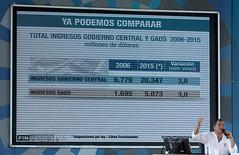 02/13/2016 - 10:35 - Guayaquil, sábado 13 de febrero del 2016 (Andes).-La explanada del Centro Civico, en Guayaquil fue el escenario del Enlace Ciudadano #462 Foto:Andes/César Muñoz