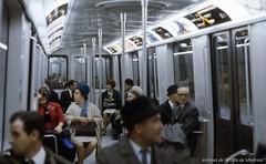 Ouverture officielle du métro de Montréal. 14 octobre 1966. VM94-Md58-088. Archives de la Ville de Montréal.